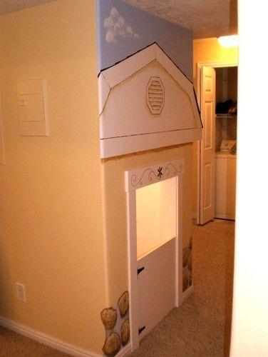 Like The Door Frame And Half Door Attic Remodel Attic Renovation Attic Apartment