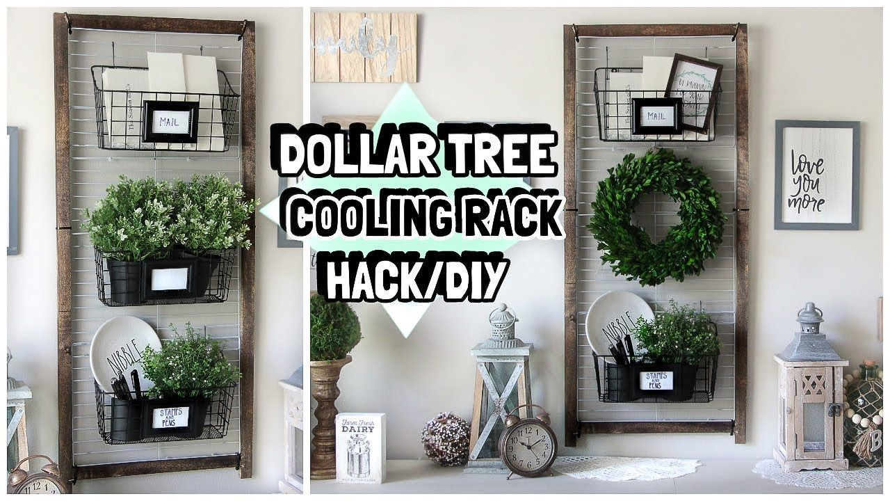 DOLLAR TREE HACK USING COOLING RACKS