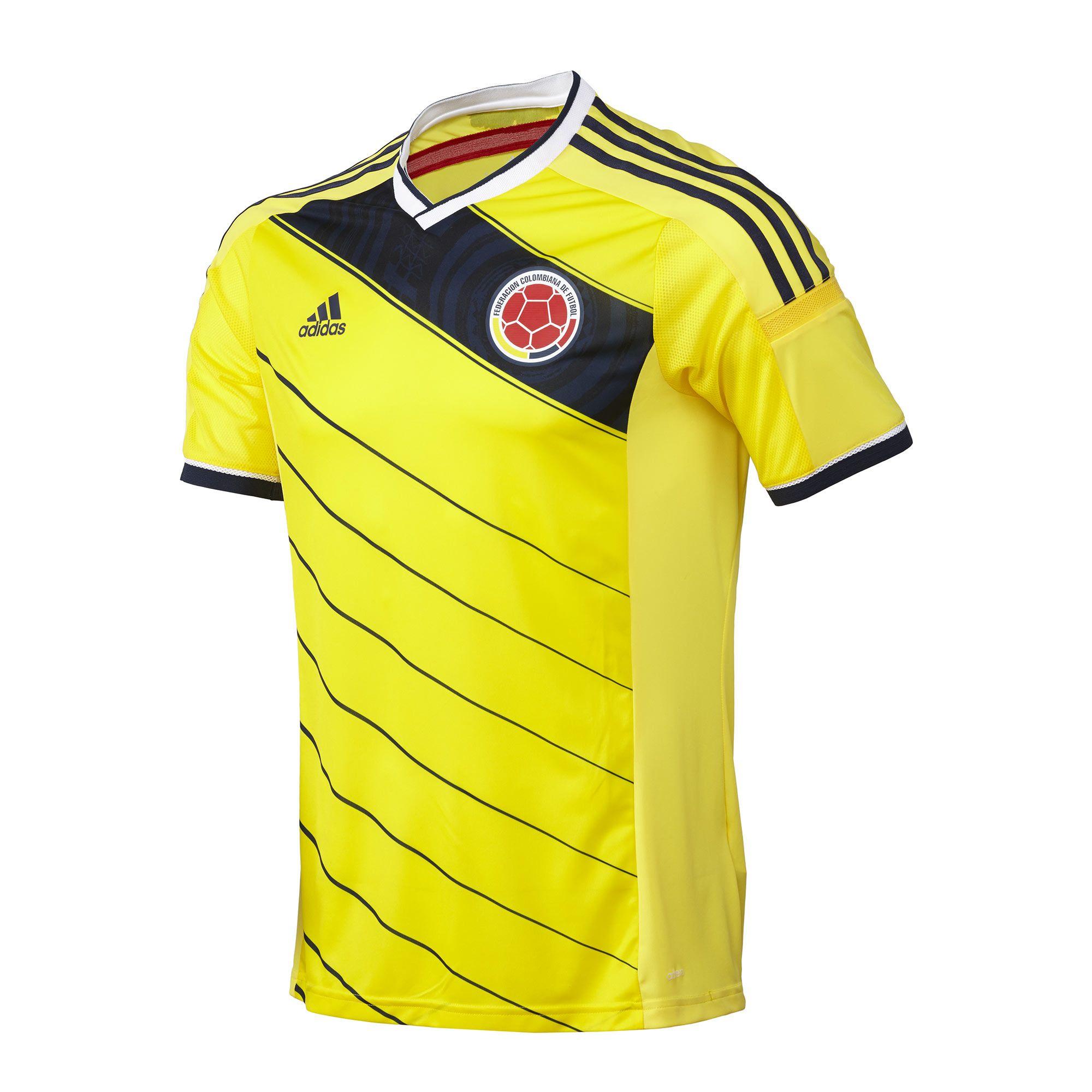 ca1b138cf204a Camiseta titular Selección Colombia Mundial Brasil 2014