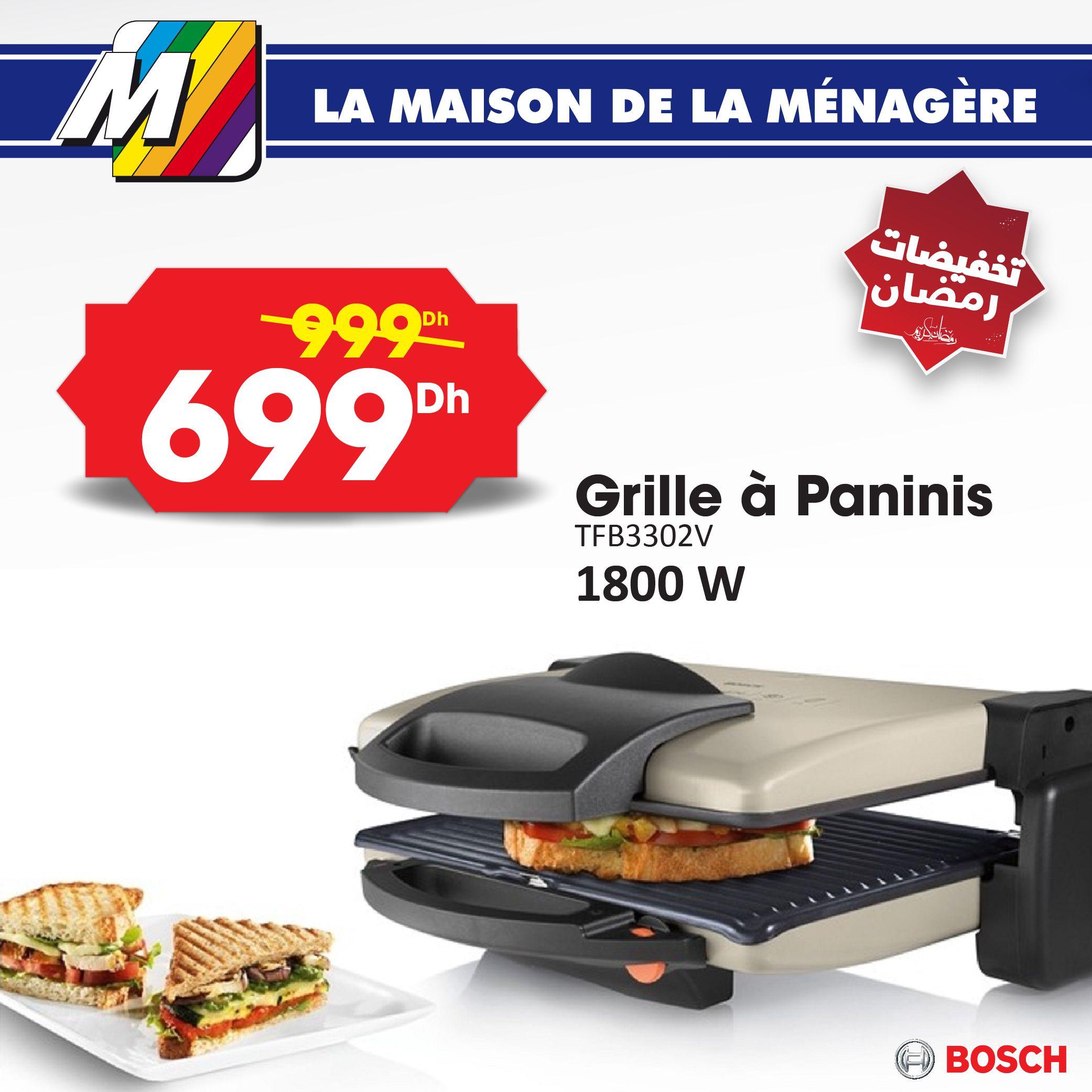 Grill Panini Bosch Sandwich Panini Maison Bosch Et Grille