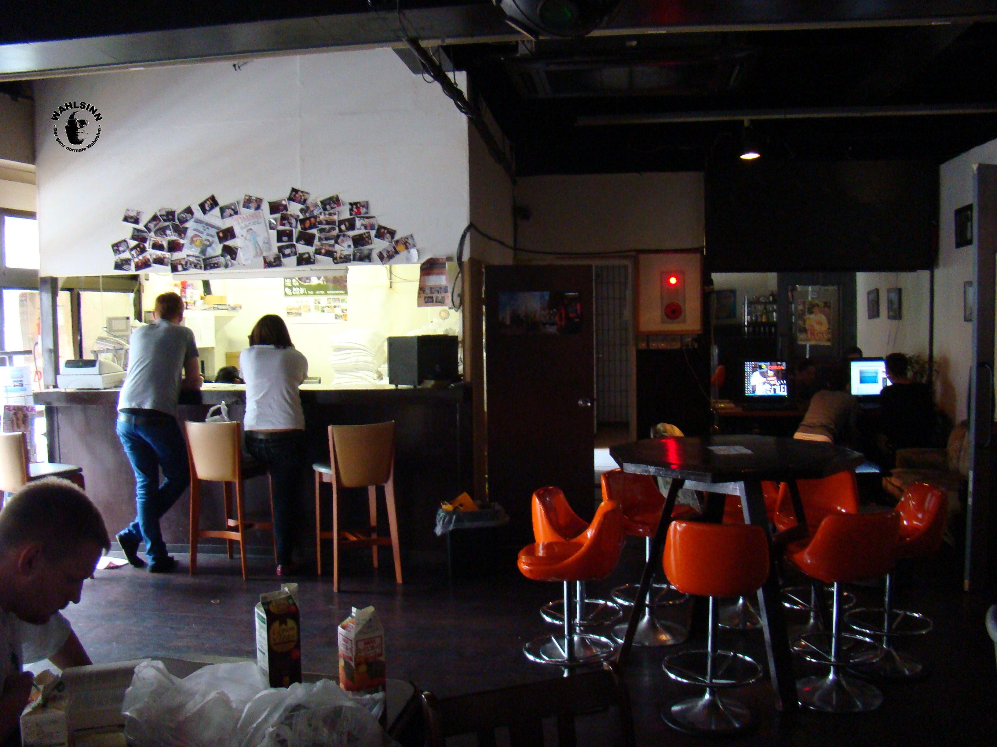 Japan // Tokio - Asakusa Smile Hostel: Der Aufenthaltsraum