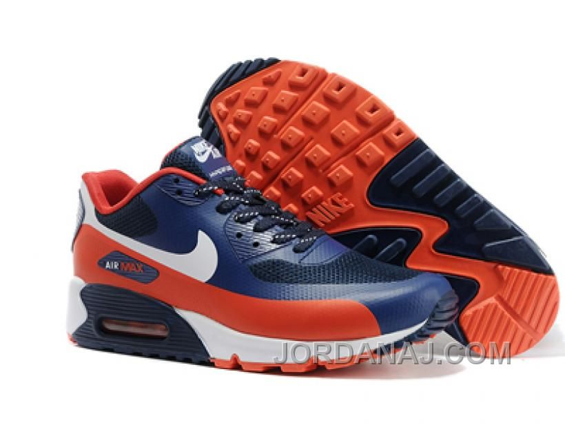Discount Nike Air Max 90 Hyperfuse Mans Sports Sko Sort
