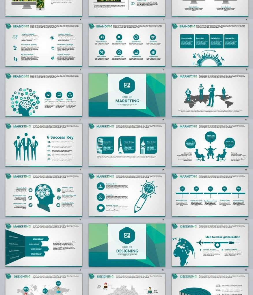 30 Creative Design Powerpoint Template Download: 27+ Best Swot Annual Creative PowerPoint Template