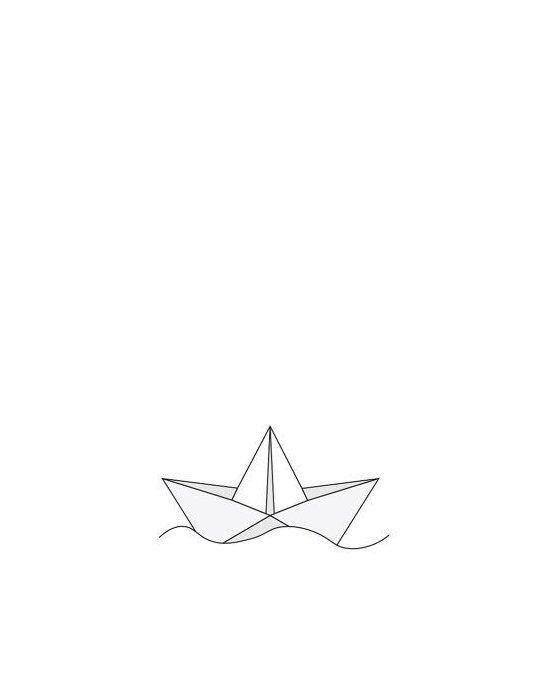 Photo of white origami wall art