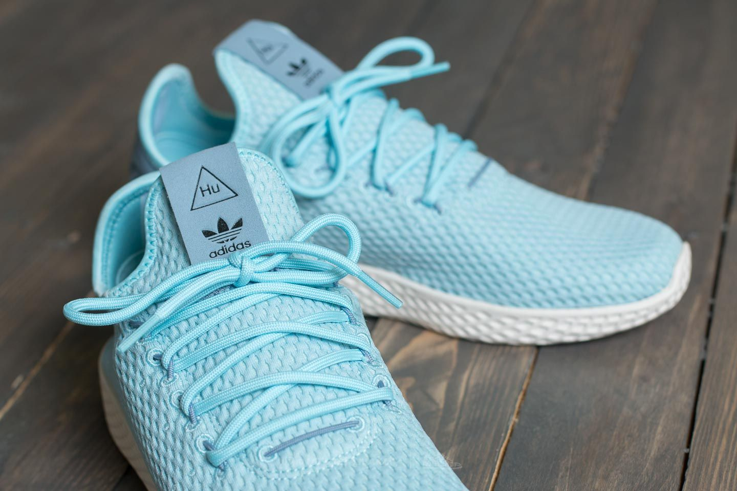 ab62a189f35 adidas Pharrell Williams Tennis HU Ice Blue  Ice Blue  Tactile Blue at a great  price 104 € buy at Footshop