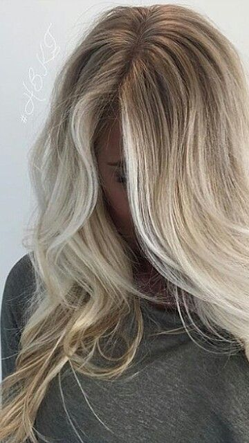 Perfect Blonde Balayage Hair Hair Beauty Hair Styles