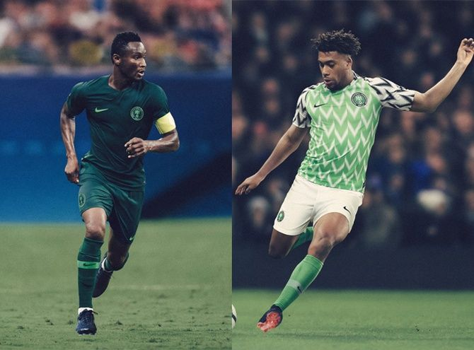 2a9dd1e94 Nigeria 2018 World Cup Home Kit Revealed - Footy Headlines ...