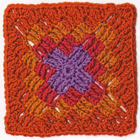 motif #119 from Beyond the Square Crochet Motifs