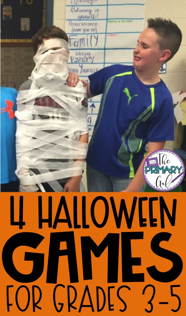 Are you looking for classroom games for Halloween Parties for Older Kids? I have... -