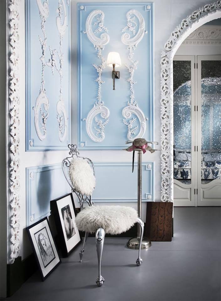 The south kensington london flat of lebanese interior designer danielle moudaber