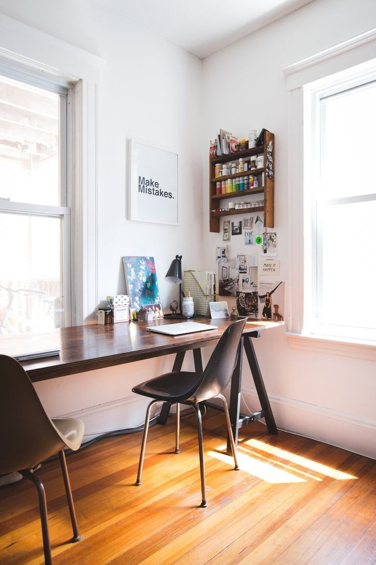 Home office interior first home  work space  pinterest  spaces and interiors