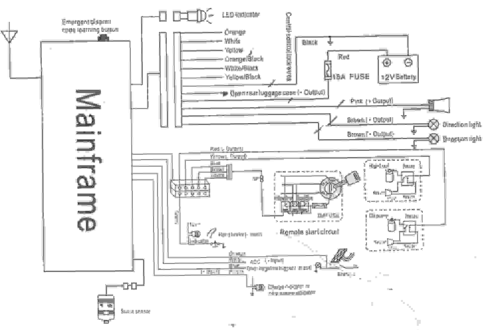 Wiring Diagram For Home Alarm System Diagram Diagramtemplate Diagramsample