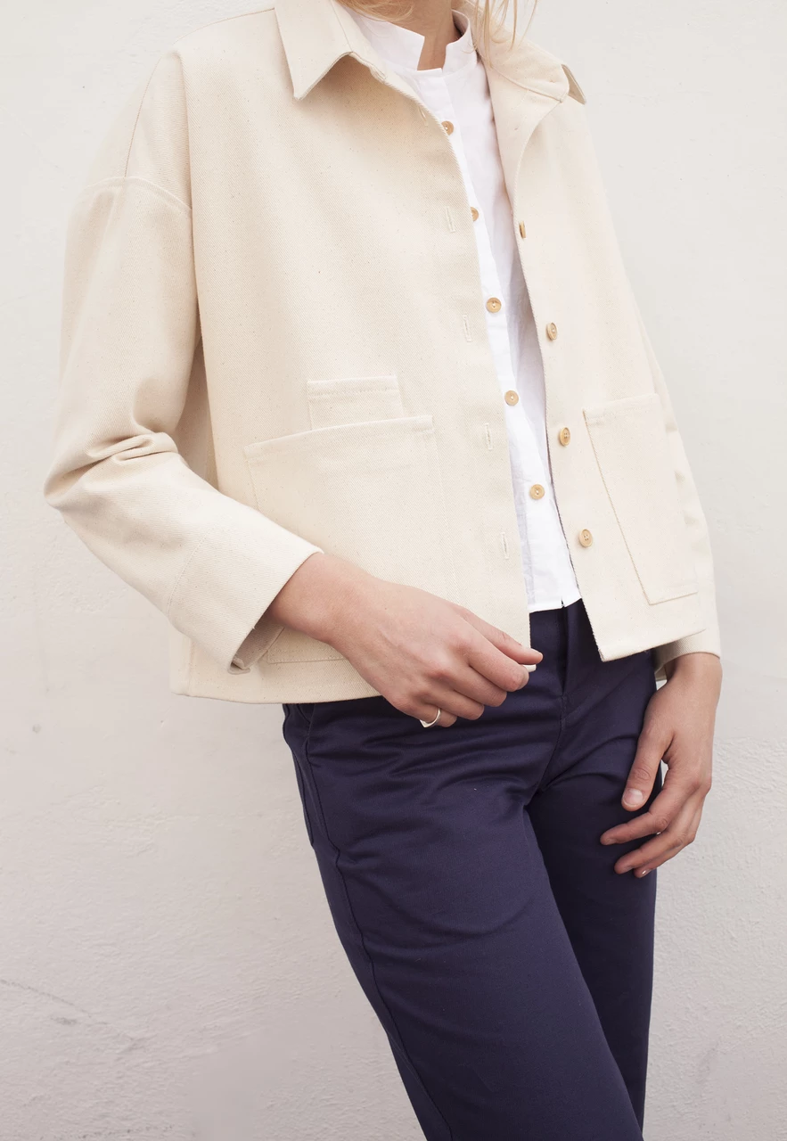 Speckled Over Shirt Sustainable clothing, Ethical