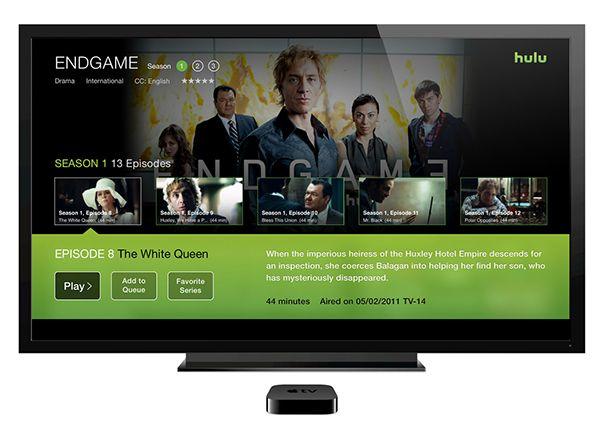Hulu Apple TV App redesign on Behance Hulu tv, Tv app, Tvs