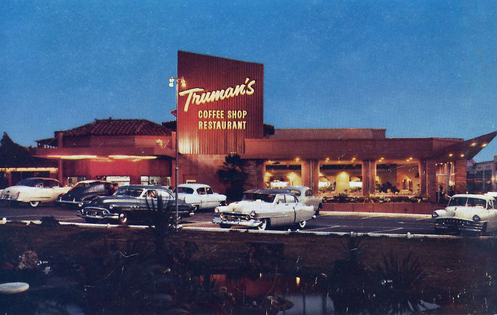 Truman S Coffee Shop Was At The Southeast Corner Of Wilshire And