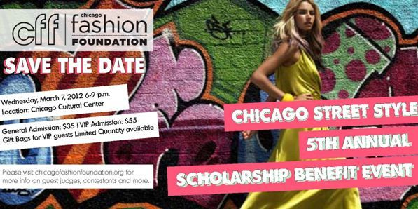 Join us for the Chicago Fashion Foundation's annual fashion show!