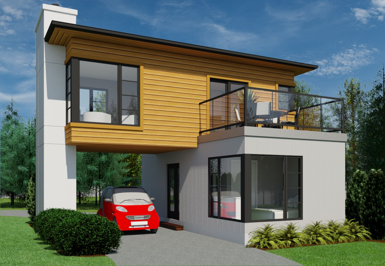 I Love The Onsuite The Laundry And The Kitchen Canadian Home Designs Custom House Plans Stock Hou Custom Home Plans House Blueprints Bungalow Floor Plans