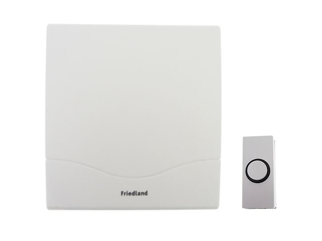 Friedland Atlanta Wired Door Bell Chime Kit (D142M) The Friedland Atlanta Wired  Door Bell