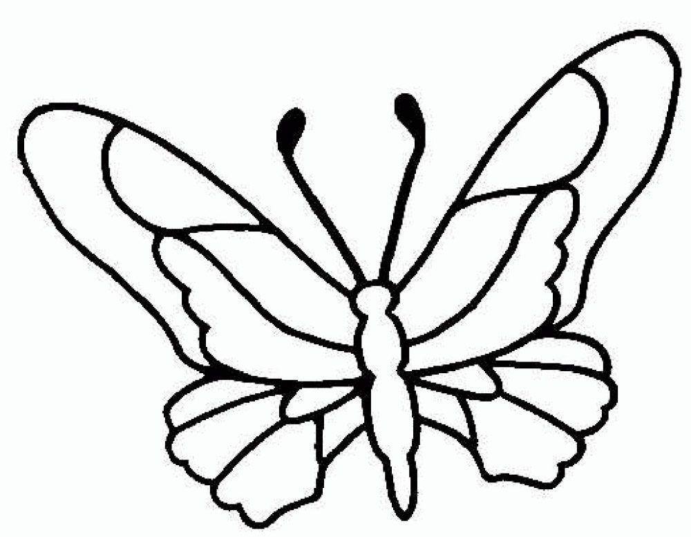 Galeria De Imagenes Dibujos De Mariposas Para Colorear Silueta