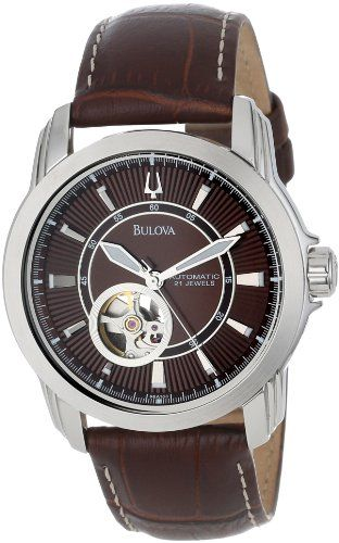 ebea6393299 Where can i buy Bulova Men s 96A108 Automatic Mechanical Strap Brown Dial  Watch