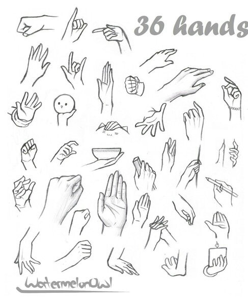 Anime hands image by Lyric Royal on Hand and feet