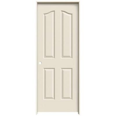 Jeld Wen 24 In X 80 In Provincial Primed Right Hand Smooth Molded Composite Mdf Single Prehung Interior Door Thdjw137300034 The Home Depot Prehung Interior Doors Doors Interior Prehung Doors