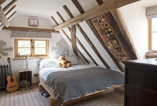 50 Amazing And Inspiring Modern Country Attic Bedrooms Guest Bedroom Remodel Remodel Bedroom Boy Bedroom Design
