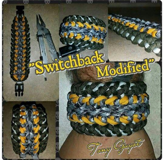 Switchback Modified Paracord Bracelet Paracord Bracelets