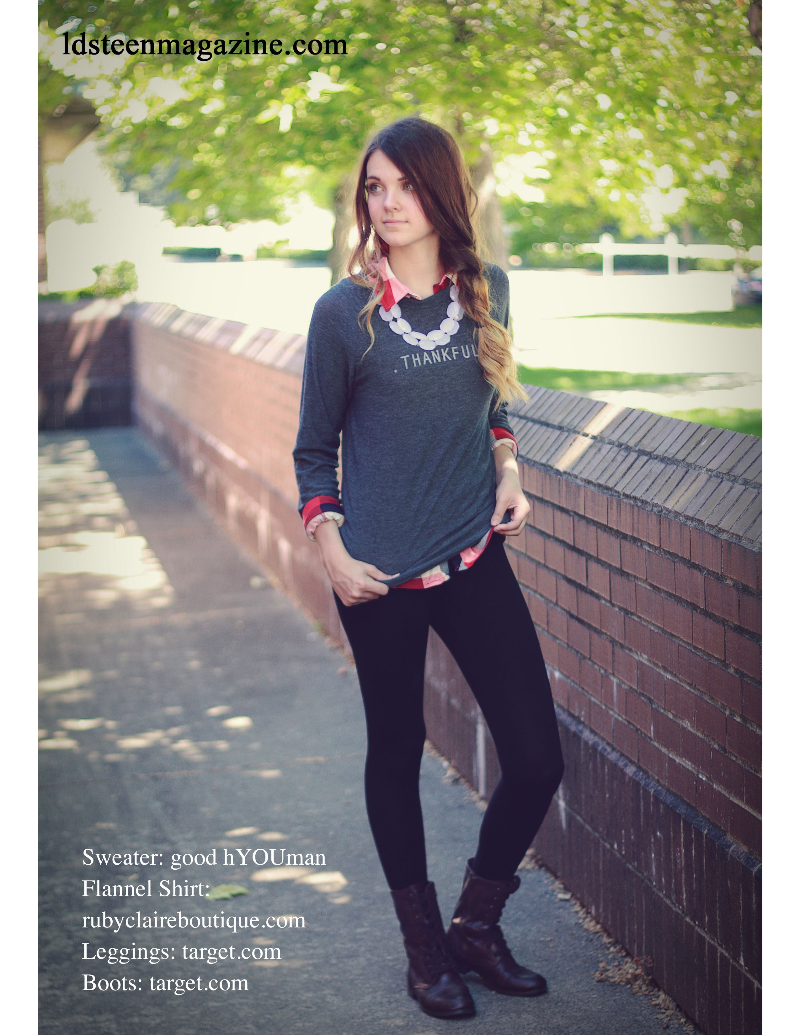 Cute Outfit From An Issue Of Lds Teen Magazine A Free Magazine For Lds Teen Girls Ldsteenmagazine Com