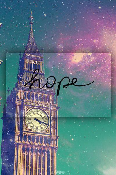never lose hope...belive