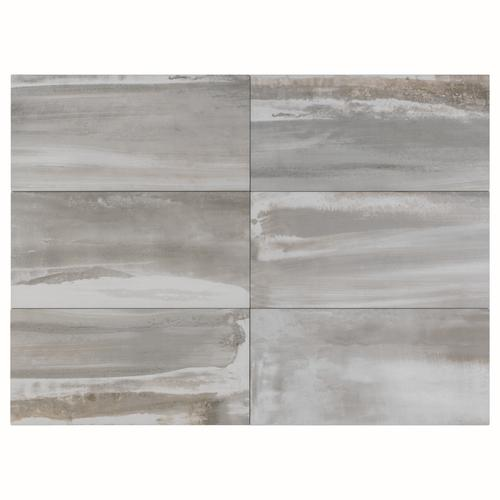 Florim USA Milled Earth 6 x 24 Porcelain Floor and Wall
