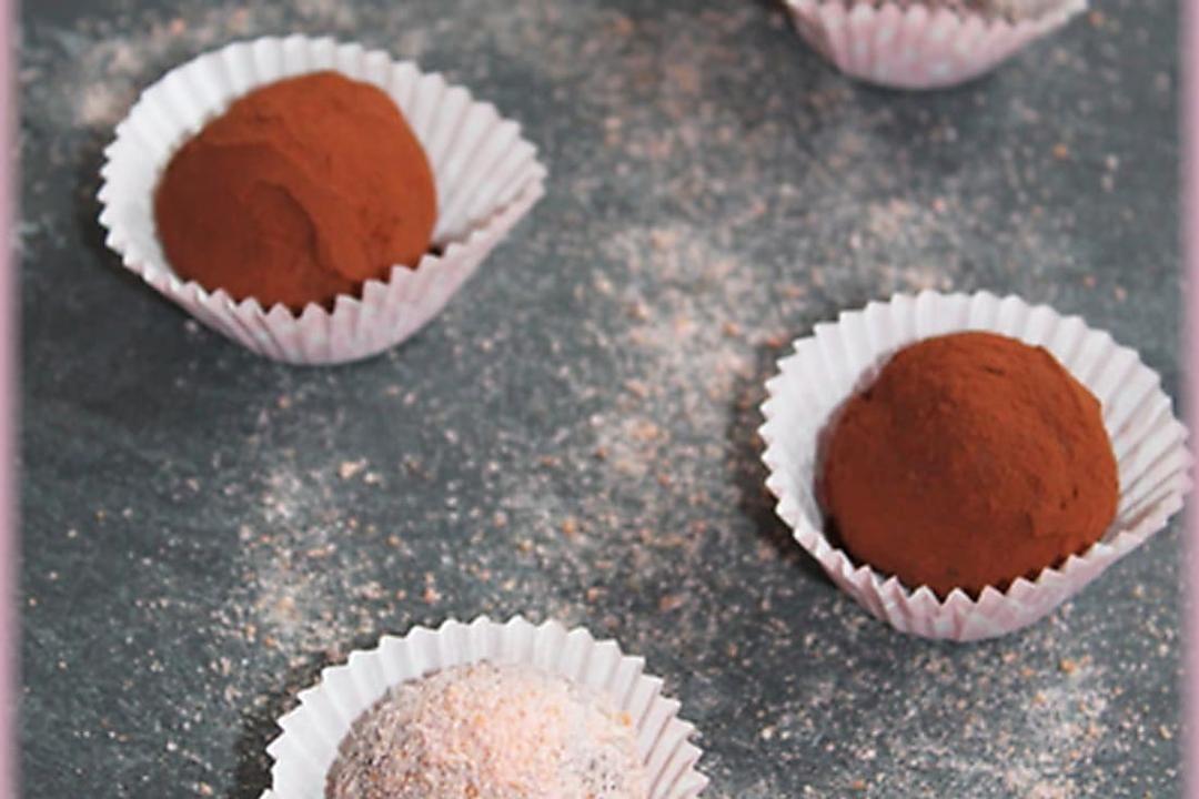 Recette de Truffes au chocolat inratables : la recette facile #truffesauchocolat