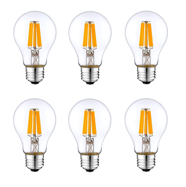 12v E26 Light Bulb A19 Warm White 3000k 4w Led Edison 12 Volt