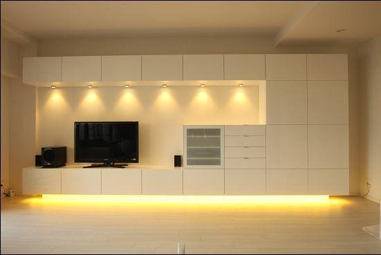 Album - 4 - Banc TV Besta Ikea, réalisations clients (série 1 | Tv units
