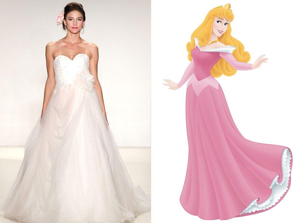 Aurora From Alfred Angelos Disney Princess Wedding Gowns