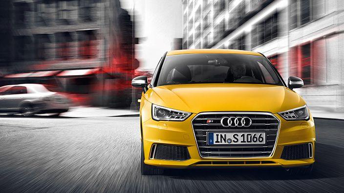 Audi S1 Audis1 Yellow Motor Audi Cars Audi Yellow Car