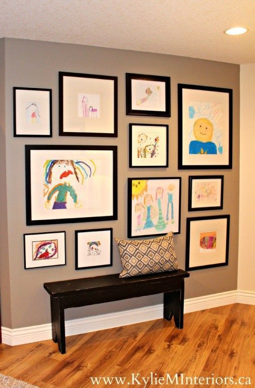 5 Ideas For a Kids Art Gallery Wall (Our Home)