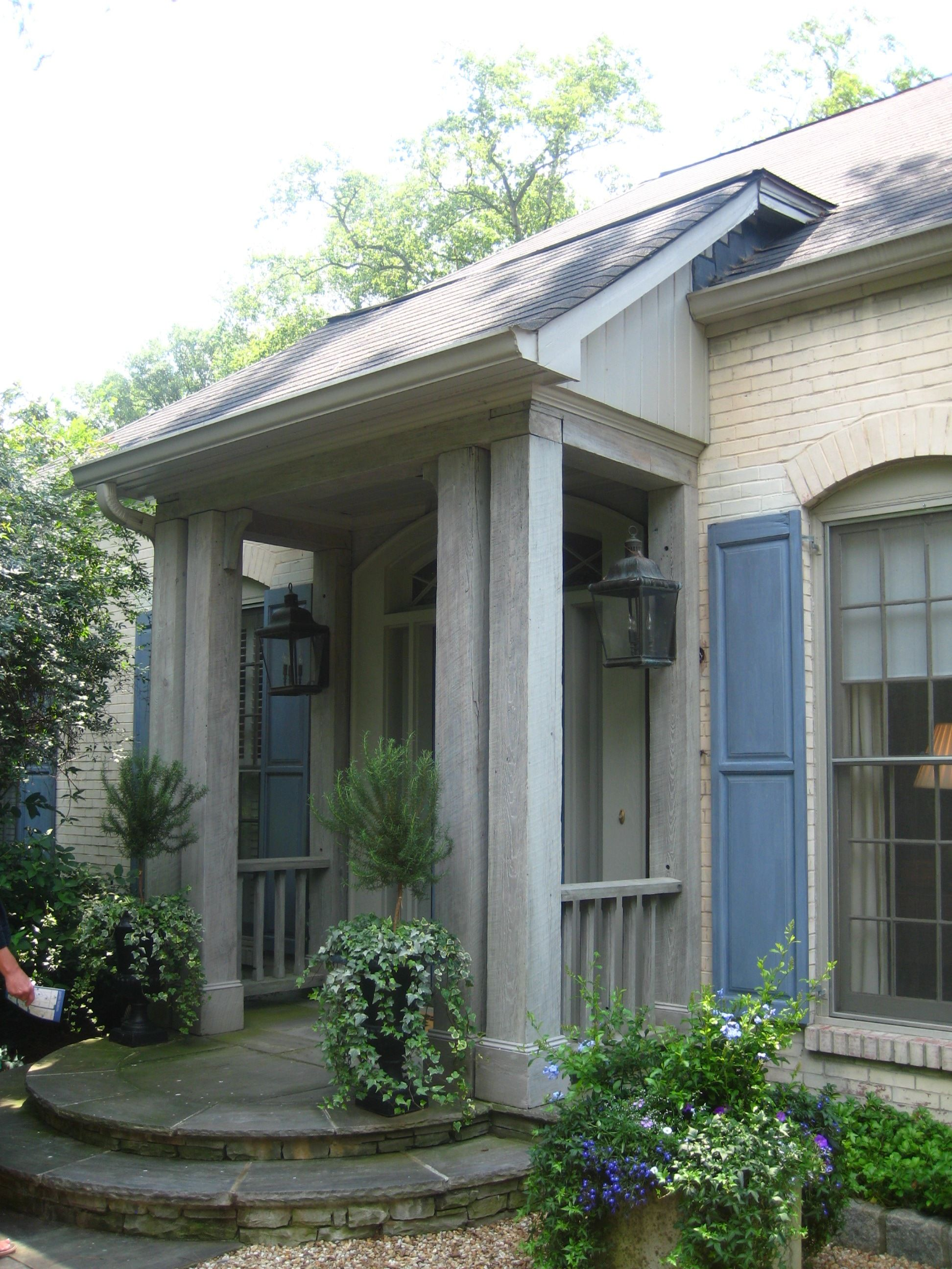 Mudroom Addition To Front Of House Yahoo Search Results: Small Front Porches Designs, Front Porch Design, Round Stairs