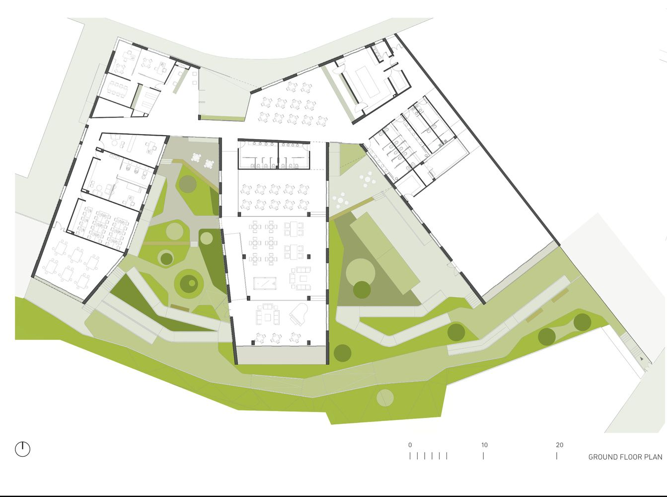 Daycare Building Floor Plans: Gallery Of Day-Care Center For Elderly People / Francisco