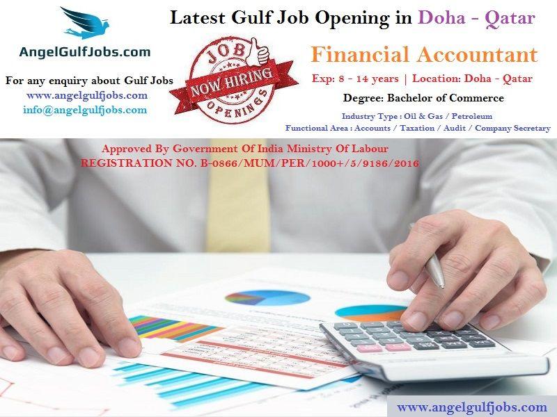 LatestGulfJobOpening in #Doha #Qatar #jobinQatarforIndian