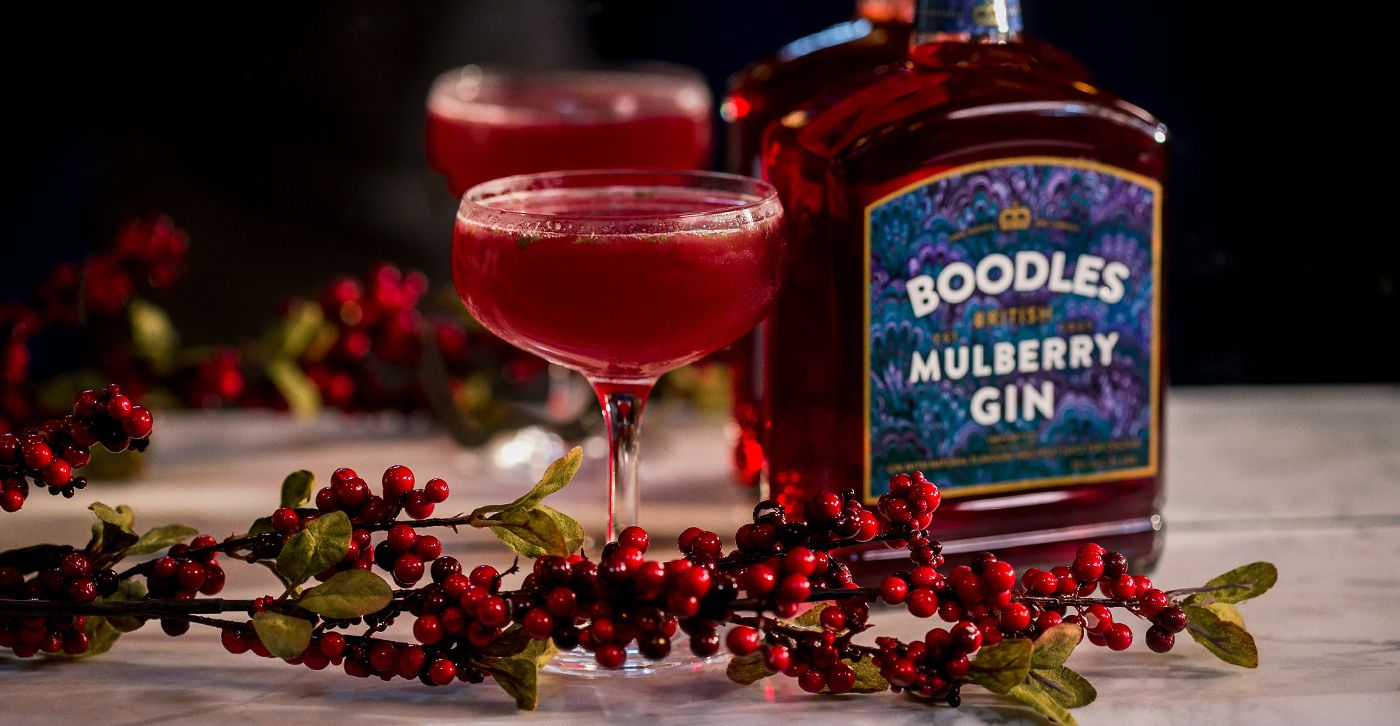 Introducing Boodles Mulberry Boodles Gin Proper British Gin Boodles Gin Cocktail Party Food Gin