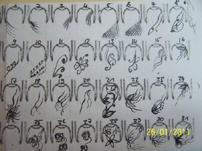 Malerei stroke uebungen bilder nageldesign hojas de for Vorlagen malerei