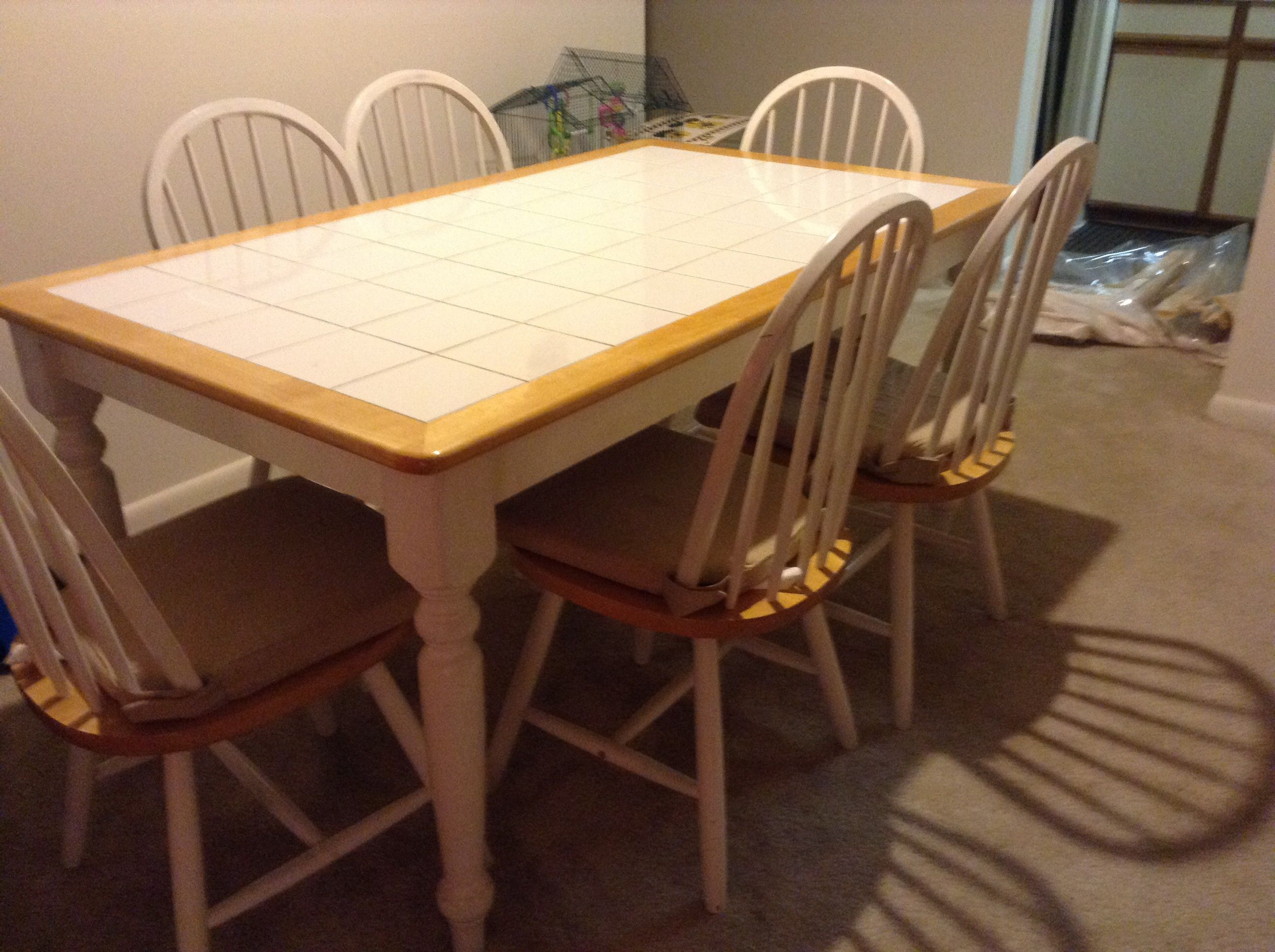 Dining Table With 6 Chairs In Marjan S Garage Sale In Germantown