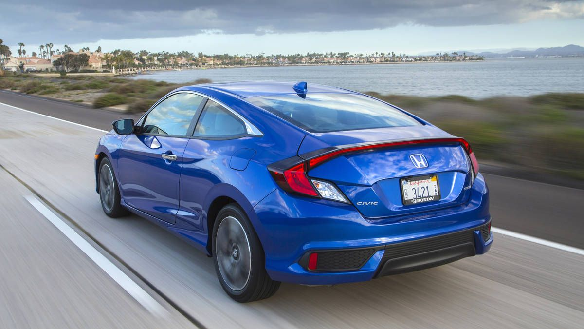 2016 Honda Civic Coupe First Drive Sacrifice For Style Honda