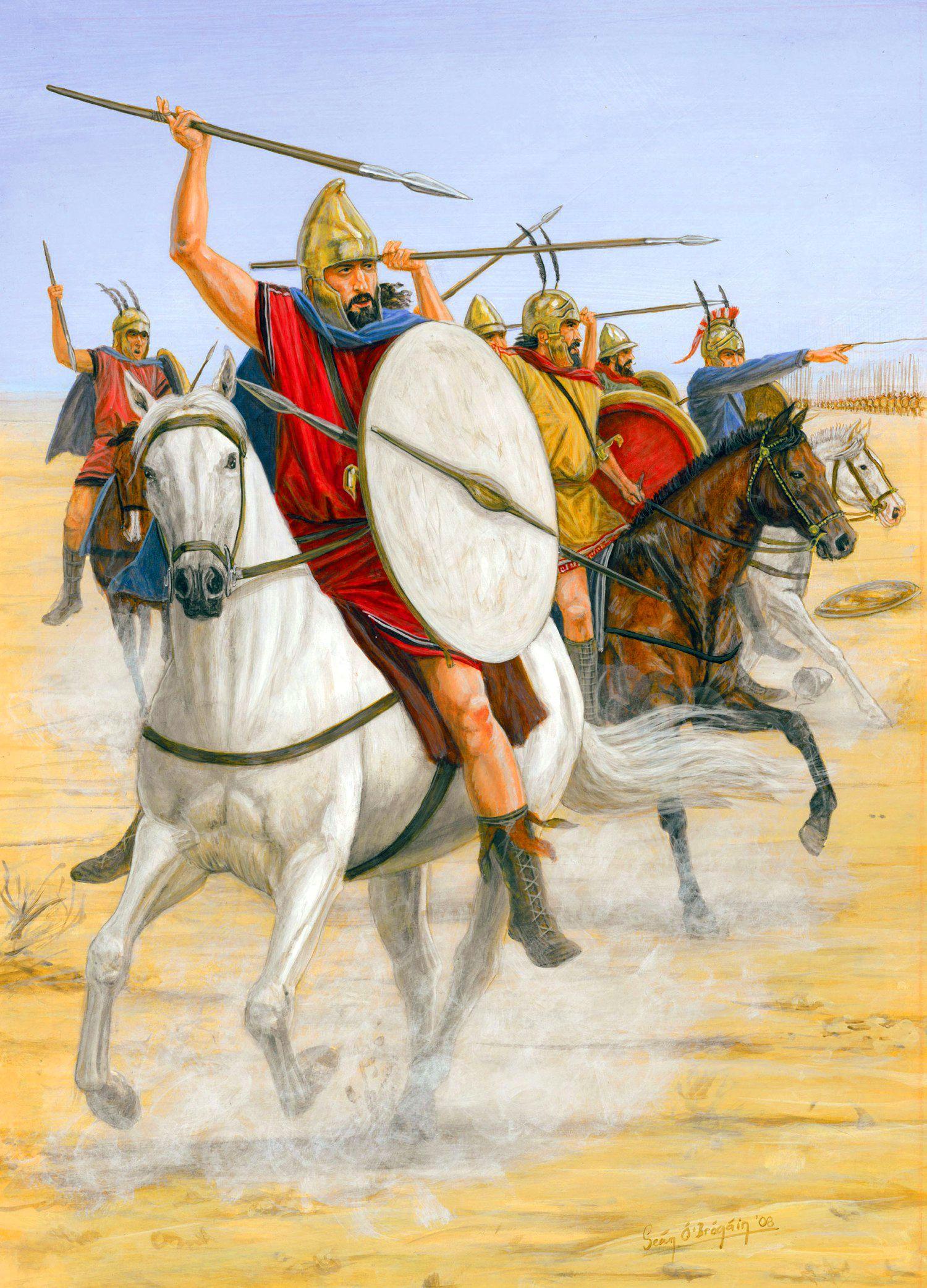 Tarentine horseman of Magna Graecia, 430-190 BC
