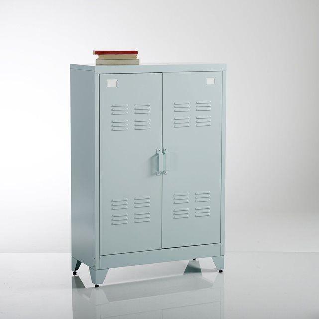 Armoire métal Hiba | Armoire vestiaire, La redoute interieurs et ...