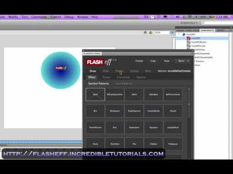 Adobe Flash Tutorial Awesome One Click Animations Con Imagenes