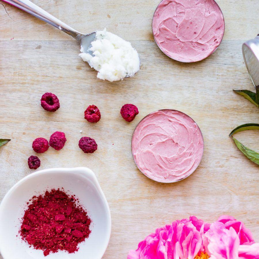 Diy raspberry coconut oil lip gloss cheek stain la