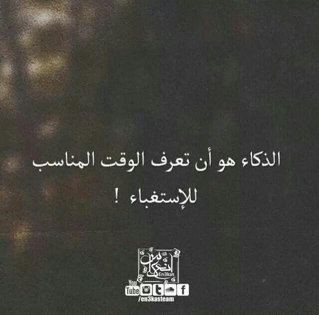 قمة الذكاء اختيار متى تكون غبي Words Quotes Arabic Quotes Words