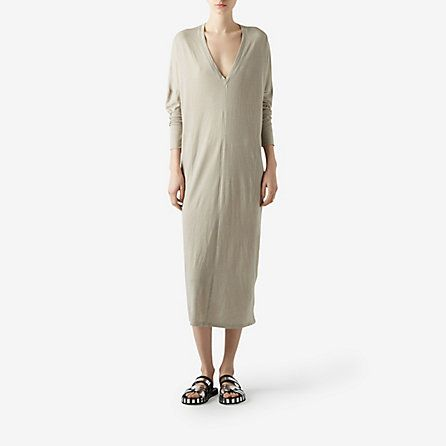 V-NECK DRESS - Steven Alan